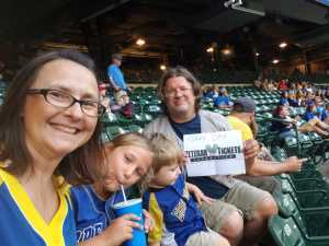 Kim attended Milwaukee Brewers vs. Minnesota Twins - MLB on Aug 13th 2019 via VetTix