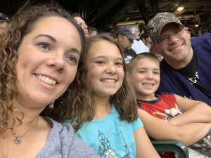 Steven attended Milwaukee Brewers vs. Minnesota Twins - MLB on Aug 13th 2019 via VetTix