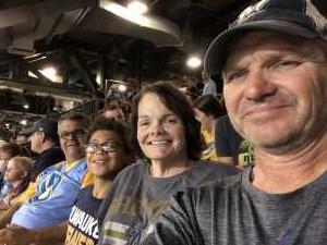 DONALD attended Milwaukee Brewers vs. Minnesota Twins - MLB on Aug 13th 2019 via VetTix