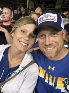 Ryan attended Milwaukee Brewers vs. Minnesota Twins - MLB on Aug 13th 2019 via VetTix