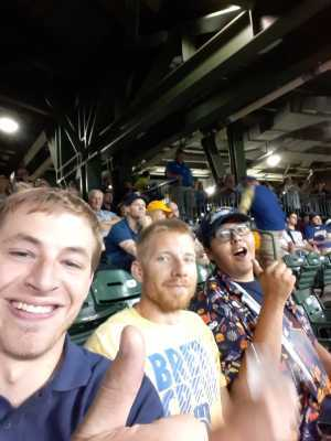 Bill attended Milwaukee Brewers vs. Minnesota Twins - MLB on Aug 13th 2019 via VetTix