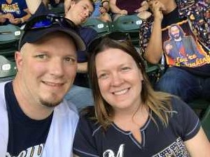 Todd attended Milwaukee Brewers vs. Minnesota Twins - MLB on Aug 13th 2019 via VetTix