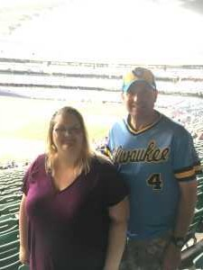 Allen attended Milwaukee Brewers vs. Minnesota Twins - MLB on Aug 13th 2019 via VetTix