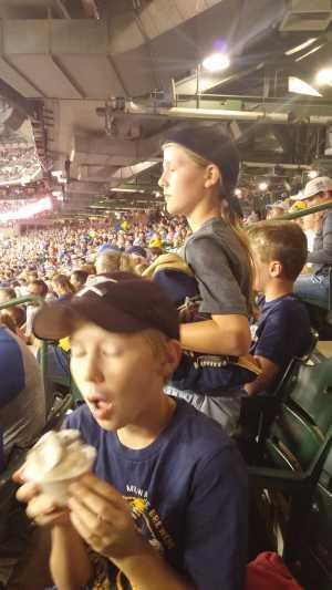 Dennis attended Milwaukee Brewers vs. Minnesota Twins - MLB on Aug 13th 2019 via VetTix