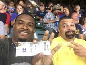 Tracey attended Milwaukee Brewers vs. Minnesota Twins - MLB on Aug 13th 2019 via VetTix
