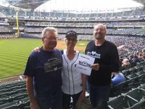 Michael attended Milwaukee Brewers vs. Minnesota Twins - MLB on Aug 13th 2019 via VetTix