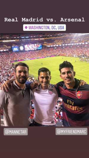 Click To Read More Feedback from International Champions Cup: Real Madrid vs. Arsenal FC - Soccer