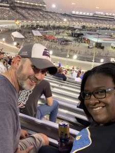Ryan attended Federated Auto Parts 400 - Monster Energy NASCAR Cup Series on Sep 21st 2019 via VetTix