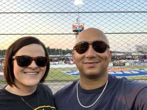 Anthony attended Federated Auto Parts 400 - Monster Energy NASCAR Cup Series on Sep 21st 2019 via VetTix