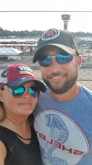 Aricka attended Federated Auto Parts 400 - Monster Energy NASCAR Cup Series on Sep 21st 2019 via VetTix