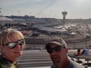 Patrick attended Federated Auto Parts 400 - Monster Energy NASCAR Cup Series on Sep 21st 2019 via VetTix