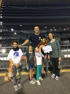 Donald attended Federated Auto Parts 400 - Monster Energy NASCAR Cup Series on Sep 21st 2019 via VetTix