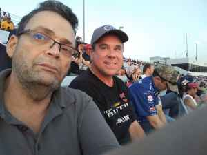 Arnold attended Federated Auto Parts 400 - Monster Energy NASCAR Cup Series on Sep 21st 2019 via VetTix