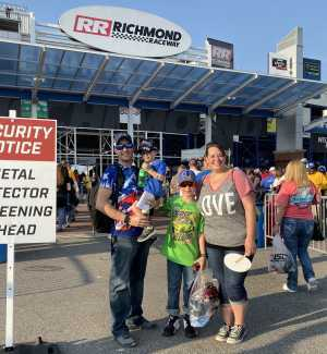 Jordan attended Federated Auto Parts 400 - Monster Energy NASCAR Cup Series on Sep 21st 2019 via VetTix
