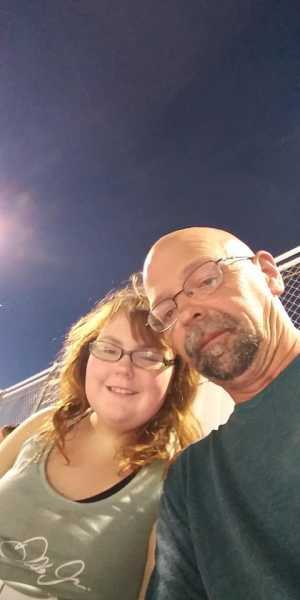 Jeffrey and Spring attended Federated Auto Parts 400 - Monster Energy NASCAR Cup Series on Sep 21st 2019 via VetTix