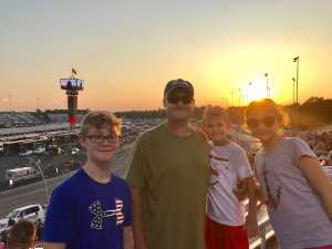Thaddeus Bouchard attended Federated Auto Parts 400 - Monster Energy NASCAR Cup Series on Sep 21st 2019 via VetTix