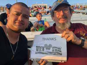 chris attended Federated Auto Parts 400 - Monster Energy NASCAR Cup Series on Sep 21st 2019 via VetTix