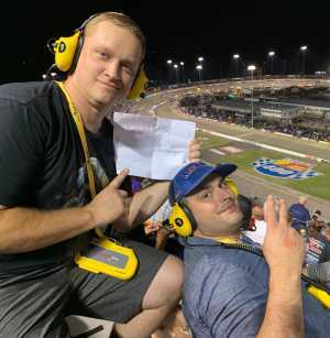 John attended Federated Auto Parts 400 - Monster Energy NASCAR Cup Series on Sep 21st 2019 via VetTix