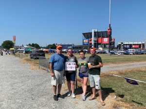 David attended Federated Auto Parts 400 - Monster Energy NASCAR Cup Series on Sep 21st 2019 via VetTix