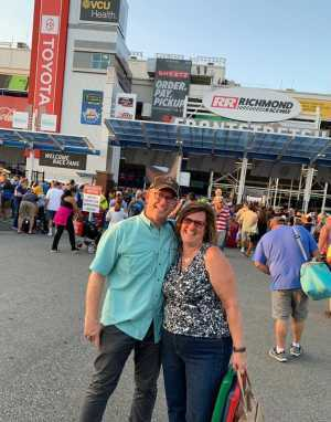Frank attended Federated Auto Parts 400 - Monster Energy NASCAR Cup Series on Sep 21st 2019 via VetTix