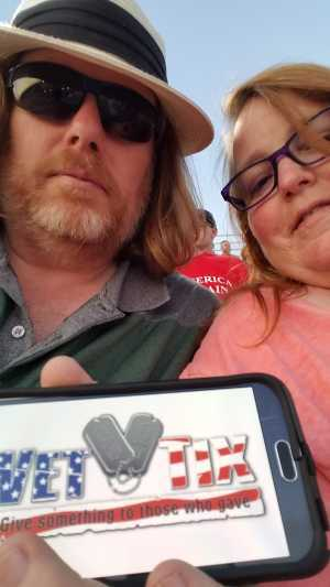 allen attended Federated Auto Parts 400 - Monster Energy NASCAR Cup Series on Sep 21st 2019 via VetTix