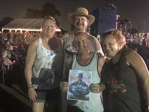 Shawn attended 50th Anniversary Texas International Pop Festival - Featuring Chicago on Sep 1st 2019 via VetTix