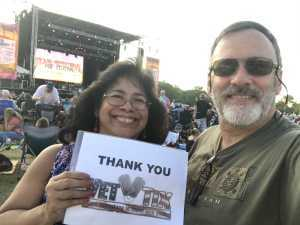 Lloyd attended 50th Anniversary Texas International Pop Festival - Featuring Chicago on Sep 1st 2019 via VetTix
