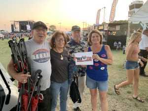 Julie Jayne attended 50th Anniversary Texas International Pop Festival - Featuring Chicago on Sep 1st 2019 via VetTix