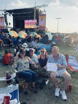 Randall attended 50th Anniversary Texas International Pop Festival - Featuring Chicago on Sep 1st 2019 via VetTix