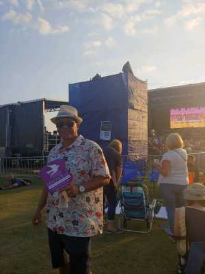 GREGORY attended 50th Anniversary Texas International Pop Festival - Featuring Chicago on Sep 1st 2019 via VetTix