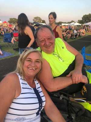 Donald attended 50th Anniversary Texas International Pop Festival - Featuring Chicago on Sep 1st 2019 via VetTix