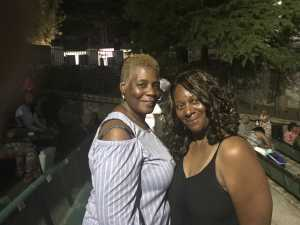 Jacquelyn attended Charlie Wilson - R&b on Aug 30th 2019 via VetTix