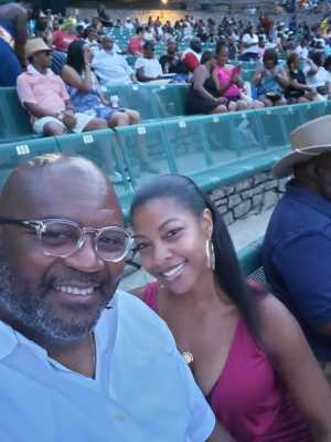 Larry attended Charlie Wilson - R&b on Aug 30th 2019 via VetTix