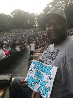 Anthony attended Charlie Wilson - R&b on Aug 30th 2019 via VetTix