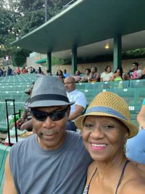 Corwyn attended Charlie Wilson - R&b on Aug 30th 2019 via VetTix