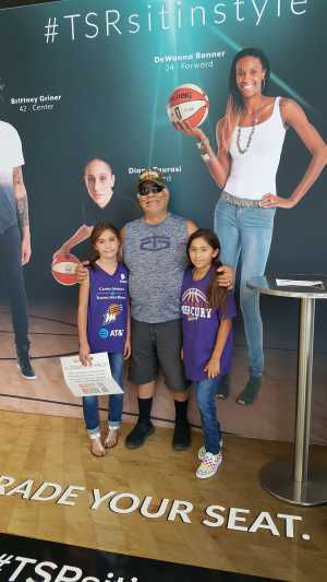 henry attended Phoenix Mercury vs. Washington Mystics - WNBA on Aug 4th 2019 via VetTix