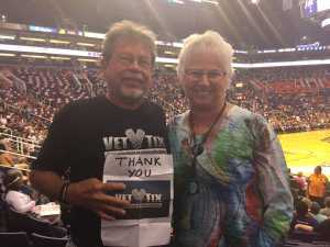 Matt attended Phoenix Mercury vs. Washington Mystics - WNBA on Aug 4th 2019 via VetTix