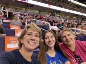 Taime attended Phoenix Mercury vs. Washington Mystics - WNBA on Aug 4th 2019 via VetTix