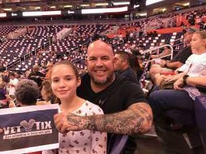 David attended Phoenix Mercury vs. Washington Mystics - WNBA on Aug 4th 2019 via VetTix