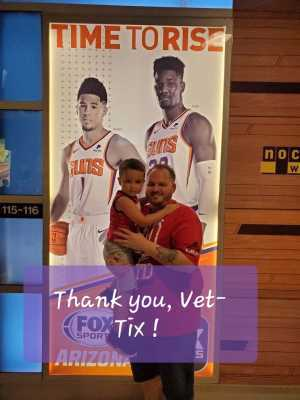 Scott attended Phoenix Mercury vs. Washington Mystics - WNBA on Aug 4th 2019 via VetTix