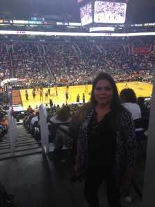 Janice attended Phoenix Mercury vs. Washington Mystics - WNBA on Aug 4th 2019 via VetTix