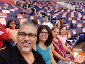 Jose attended Phoenix Mercury vs. Washington Mystics - WNBA on Aug 4th 2019 via VetTix