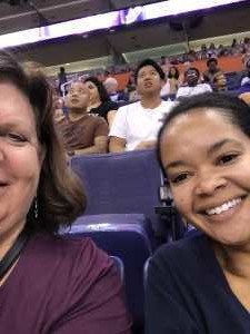 Sandra attended Phoenix Mercury vs. Washington Mystics - WNBA on Aug 4th 2019 via VetTix
