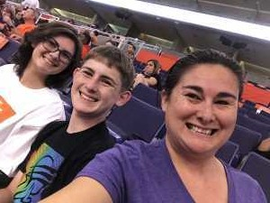 AJ attended Phoenix Mercury vs. Washington Mystics - WNBA on Aug 4th 2019 via VetTix