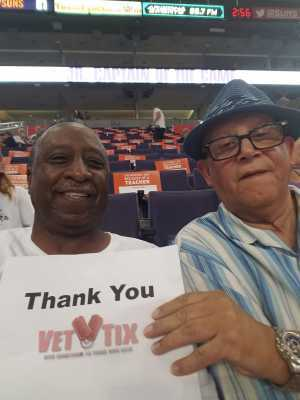 Charles attended Phoenix Mercury vs. Washington Mystics - WNBA on Aug 4th 2019 via VetTix