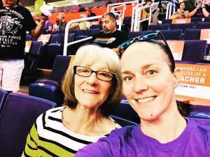 Krista attended Phoenix Mercury vs. Washington Mystics - WNBA on Aug 4th 2019 via VetTix