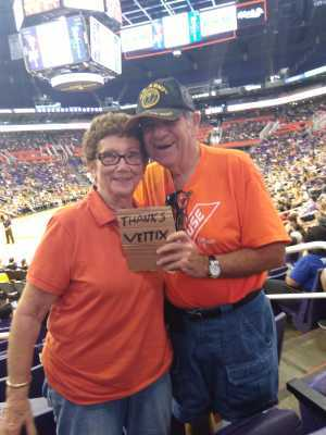 Gerald attended Phoenix Mercury vs. Washington Mystics - WNBA on Aug 4th 2019 via VetTix