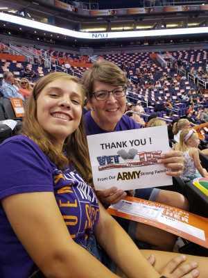Robert attended Phoenix Mercury vs. Washington Mystics - WNBA on Aug 4th 2019 via VetTix