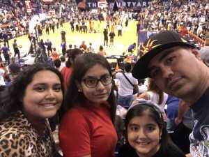 Armando attended Phoenix Mercury vs. Washington Mystics - WNBA on Aug 4th 2019 via VetTix