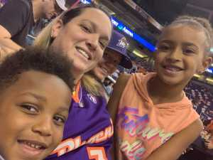 Austin  attended Phoenix Mercury vs. Washington Mystics - WNBA on Aug 4th 2019 via VetTix